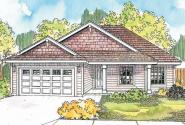 Country House Plan - Olmstead 30-548 - Front Elevation
