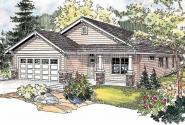 Country House Plan - Sedgewood 30-631 - Front Elevation