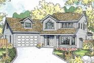 Country House Plan - Shaffer 30-453 - Front Elevation