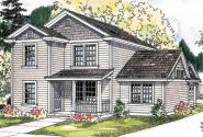 Country House Plan - Ellisville 30-588 - Front Elevation