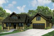 Craftsman House Plan - Alexandria 30-974 - Front Elevation