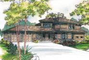 Craftsman House Plan - Bowman 30-315 - Front Elevation