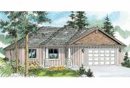 Craftsman House Plan - Camas 30-711 - Front Elevation