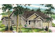 Craftsman House Plan - Caraville 30-721 - Front Elevation
