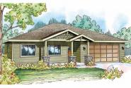 Craftsman House Plan - Dogwood 30-748 - Front Elevation