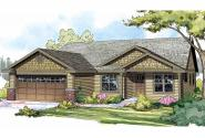 Craftsman House Plan - Easthaven 30-778 - Front Elevation