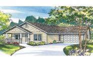 Craftsman House Plan - Elwood 30-293 - Front Elevation