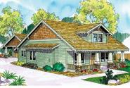 Craftsman House Plan - Fairfield 30-583 - Front Elevation