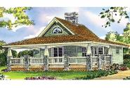 Craftsman House Plan - Fenwick 41-012 - Front Elevation