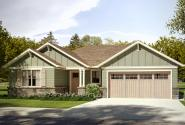 Craftsman House Plan - Gardenia 31-048 - Front Elevation