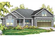 Craftsman House Plan - Greenleaf 70-002 - Front Elevation