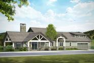 Craftsman House Plan - Heartfall 10-620 - Front Elevation