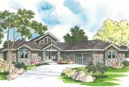 Craftsman House Plan - Heartford 10-420 - Front Elevation