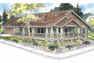 Craftsman House Plan - Karsten 30-590 - Front Elevation
