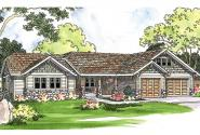 Craftsman House Plan - Pinedale 30-228 - Front Elevation