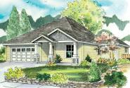Craftsman House Plan - Ravenden 30-712 - Front Elevation