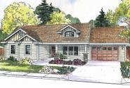 Craftsman House Plan - Stanford 30-640 - Front Elevation