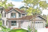 Craftsman House Plan - Wendover 30-558 - Front Elevation
