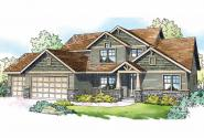 Craftsman House Plan - Yellowwood 30-728 - Front Elevation