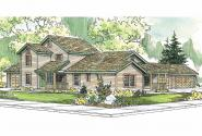 Duplex Plan - Corydon 60-008 - Front Elevation