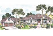 European House Plan - Applegate 10-403 - Front Elevation