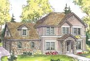 European House Plan - Cartwright 30-556 - Front Elevation