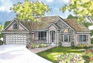 European House Plan - Hargrove 30-409 - Front Elevation