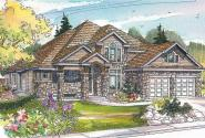 European House Plan - Hastings 30-361 - Front Elevation
