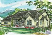 European House Plan - Lafayette 10-156 - Front Elevation