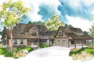 European House plan - Petersfield 30-542 - Front Elevation