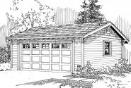 Garage Plan 20-010 - Front Elevation