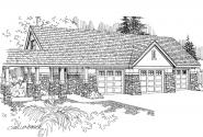 Garage Plan 20-019 - Front Elevation