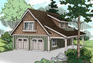 Garage Plan 20-020 - Front Elevation