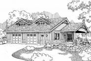 Garage Plan 20-034 - Front Elevation