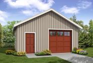Garage Plan 20-053 - Front Elevation