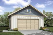 Garage Plan 20-054 - Front Elevation