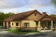 Garage Plan 20-058 - Front Elevation