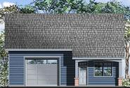 Garage Plan 20-072 - Front Elevation