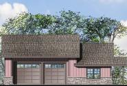 Garage Plan 20-076 - Front Elevation