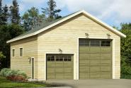 Garage Plan 20-093 - Front Elevation