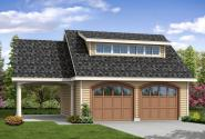 Garage Plan 20-107 - Front Elevation
