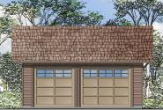 Garage Plan 20-108 - Front Elevation