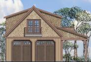 Garage Plan 20-125 - Front Elevation