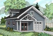 Garage Plan 20-138 - Front Elevation