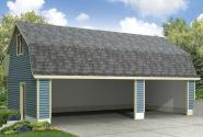 Garage Plan 20-142 - Front Elevation