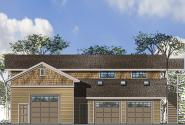 Garage Plan 20-153 - Front Elevation