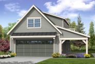 Garage Plan 20-157 - Front Elevation