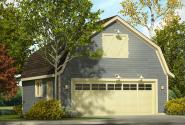 Garage Plan 20-171 - Front Elevation