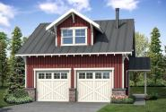 Garage Plan 20-189 - Front Elevation