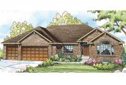 Georgian House Plan - Lupine 30-747 - Front Elevation